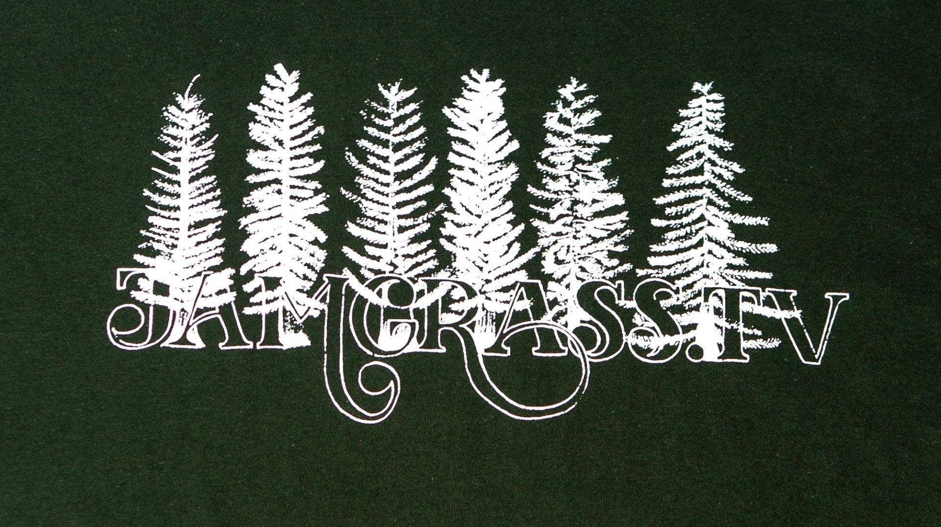 JamGrass TV Pine Tree T-Shirt