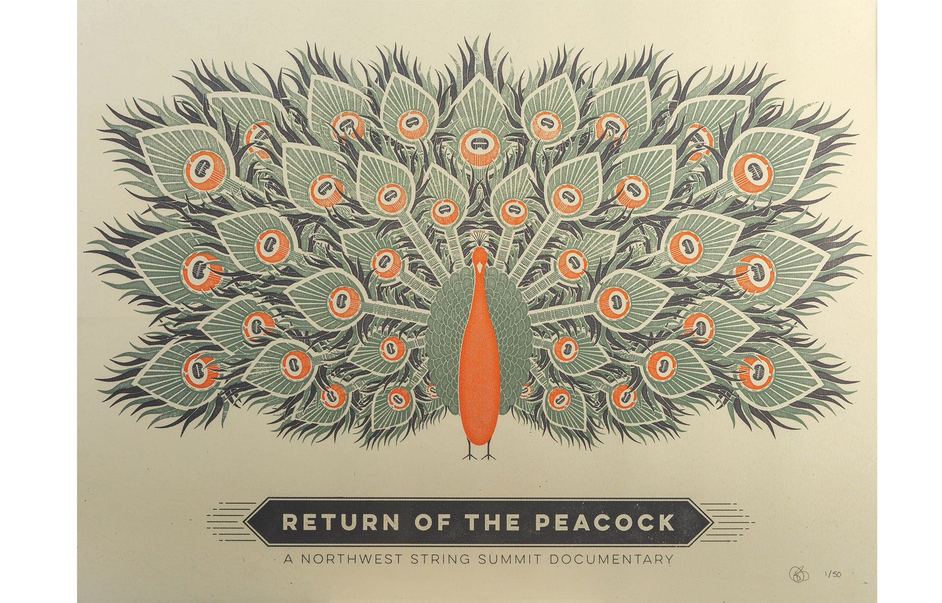 Return of the Peacock Screen Prints