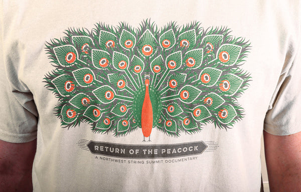 Return of the Peacock T-shirt