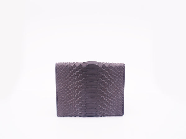 PASSPORT WALLET - DARK GREY/NAVY