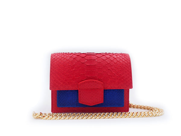 KATE MINI - RED/BLUE