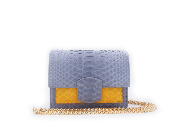 KATE MINI - LIGHT GREY/MUSTARD