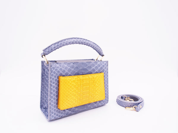 COCO MINI - LIGHT GREY/MUSTARD