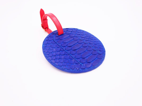 BAG TAG - COBALT BLUE
