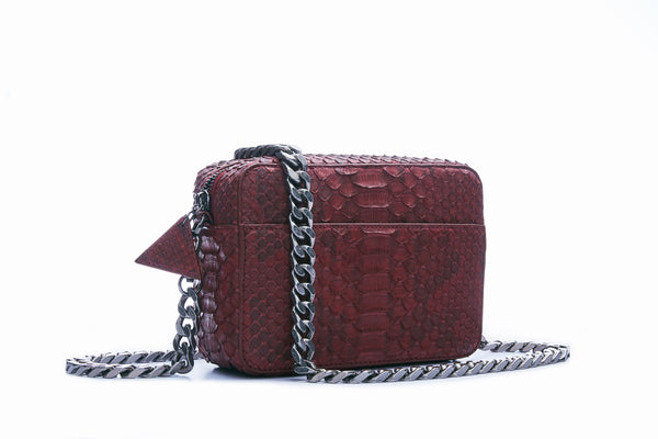 BOX MINI - BURGUNDY