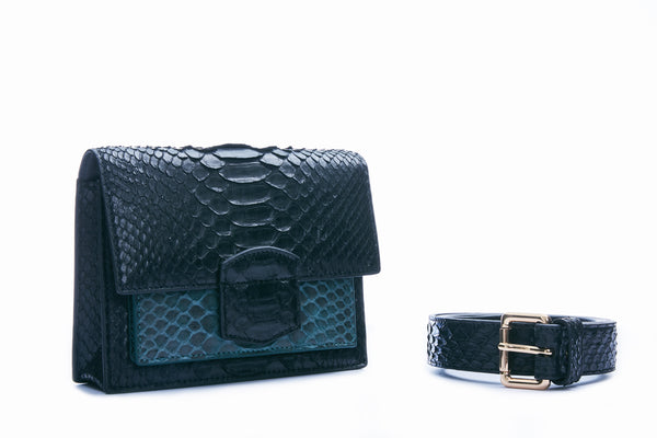 KATE MINI - BLACK/GREEN