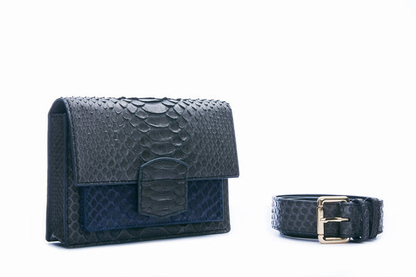 KATE MINI - DARK GREY/NAVY