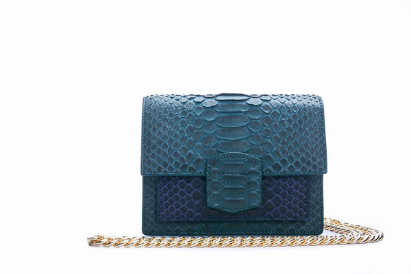 KATE MINI - GREEN/NAVY
