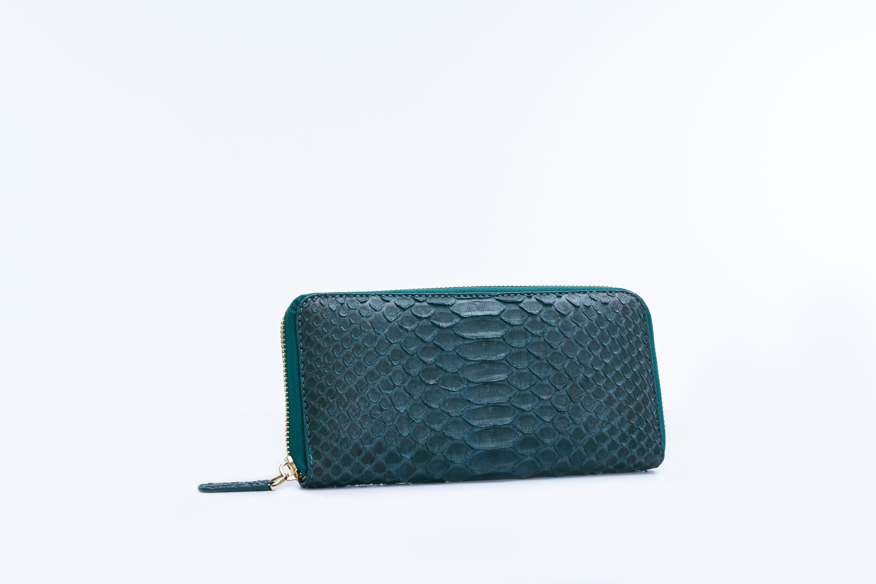 ZIPPED WALLET - GREEN