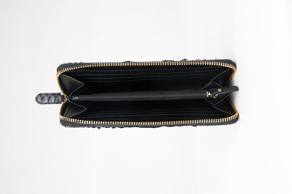 ZIPPED WALLET - OLIVE