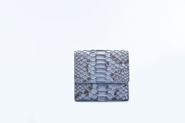 SMALL FLAP WALLET - GREY