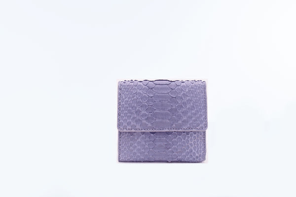 SMALL FLAP WALLET - LIGHT GREY