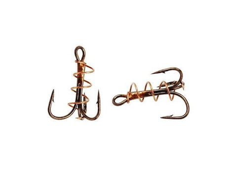 Eagle Claw Soft Bait Treble Hook  5 hook pack