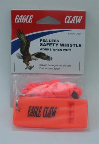 Eagle Claw Boat Whistle with Lanyard