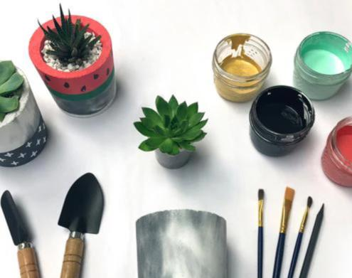 DIY Planter Workshop - December 16th at 7pm