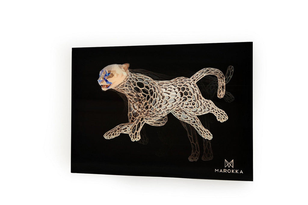 Design gone wild: Introducing Cheetah art print lenticular