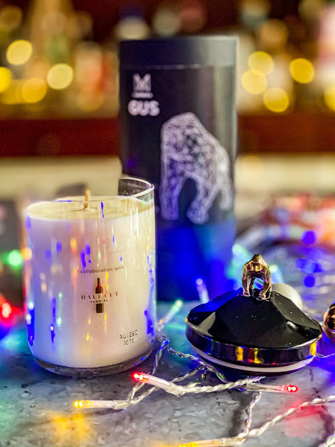 2020 Christmas Gift Guide featuring handmade gorilla candle by Mandy Charlton photography