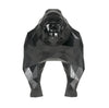 Gorilla Geometric sculpture - Gus in Metallic Black