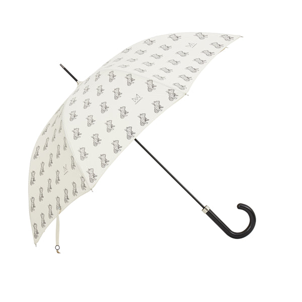 French Bulldog Umbrella - Frank print in graphite