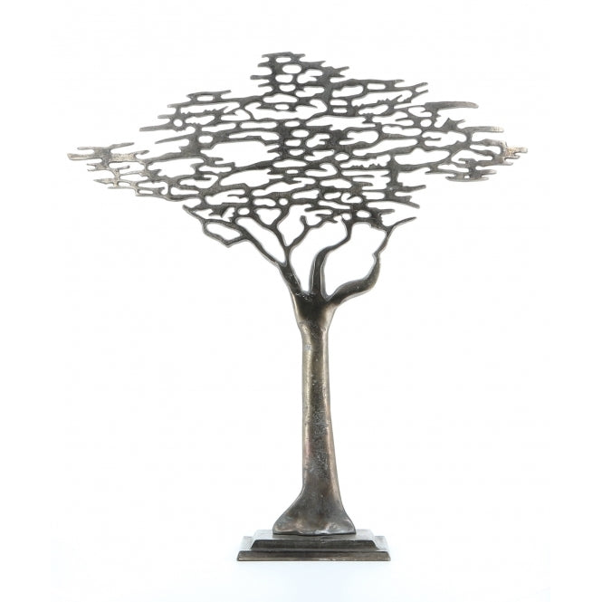Tree of life ornament - Antique Pewter Small