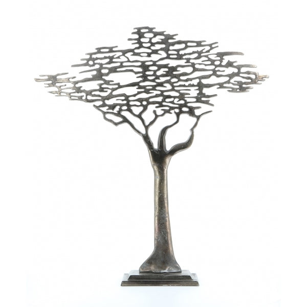 Antique Pewter Tree of life