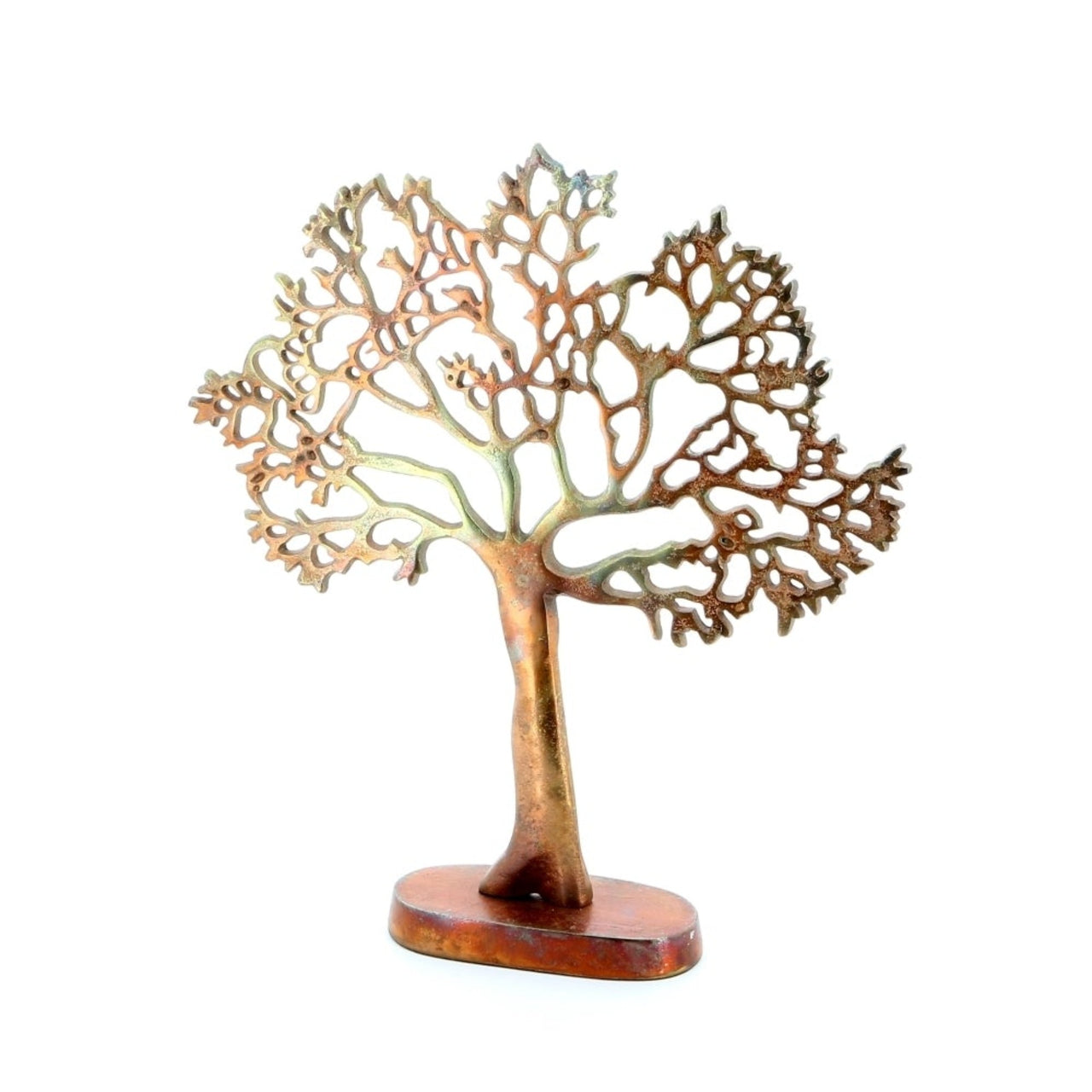 Tree of Life Ornament -Antique Copper Small