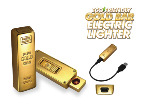 Gold Bar EcoFriendly Lighter - The High Road