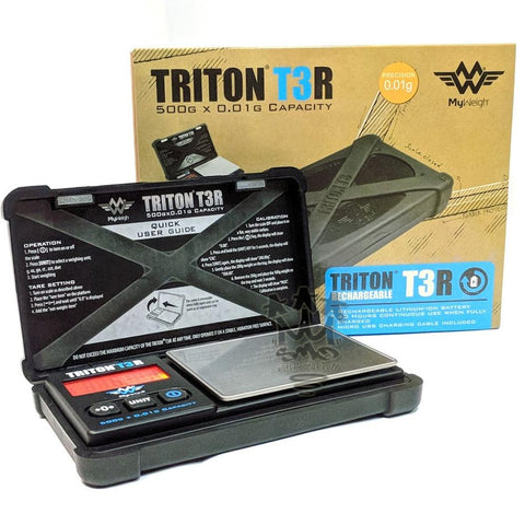 Triton T3 500 Rechargable Scale