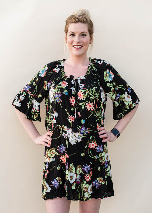 Spring Floral Tunic