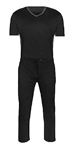 Super Comfortable,super Soft and Cozy Great Fit 100% Jersey Cotton Knit Mens Short Sleeve Pajamas