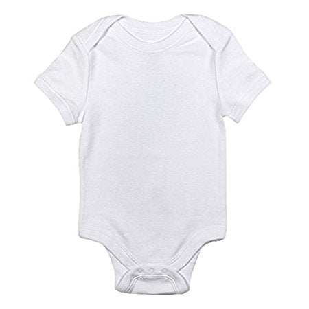 Soft 'n' Snuggly White Short Sleeve Bodysuit 3 Pack