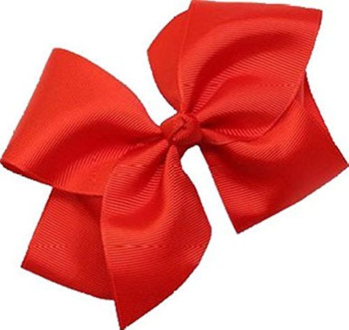 Beautiful Handmade Variety of Bright Colors Grosgrain Ribbon Bows with Alligator Clip