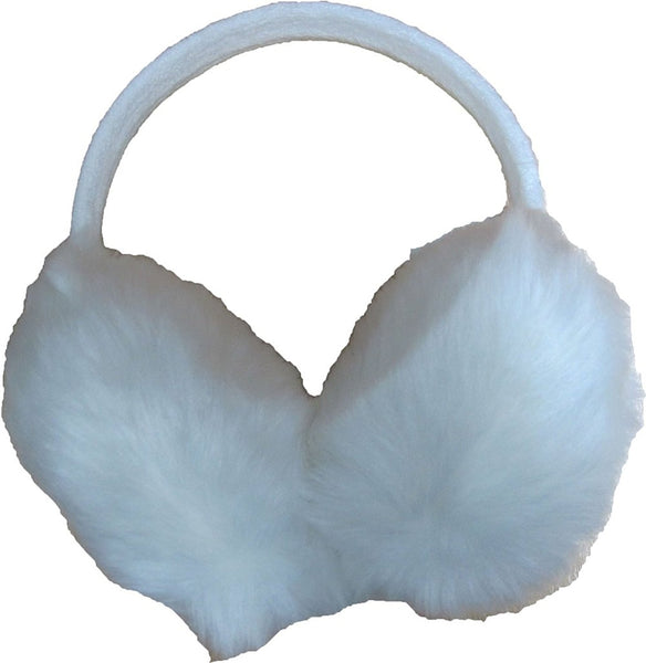 Furry Winter Ear Warmers for Girl