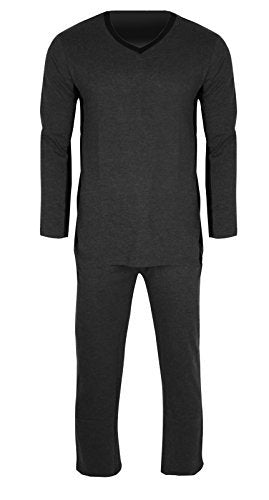 Men's Great Fit 100% Jersey Cotton Knit Pajamas