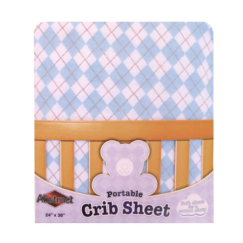 Great Quality, Soft and Comfortable,Pimple Free,Fitted Crib Sheet 28x52