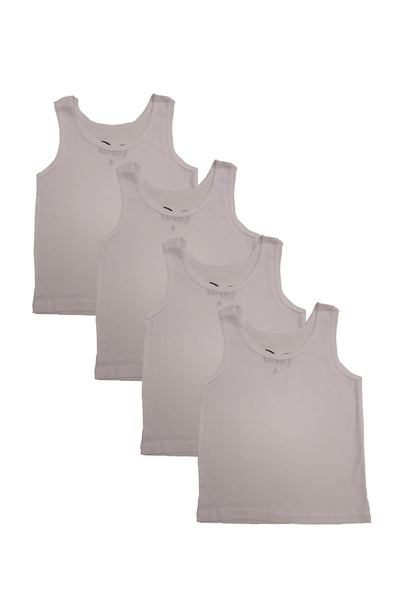 Boys Cotton Tank Top Undershirt 4pk