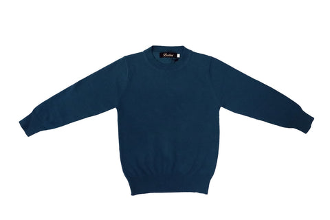 Boys Round Sweater Crew Neck