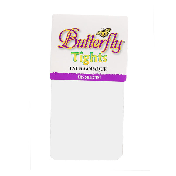 Butterfly lycra opaque tights kids collection 6 pack (#1181)  $2.29 each
