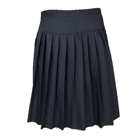 Ribero De Melio Open Pleated Skirt With Yolk