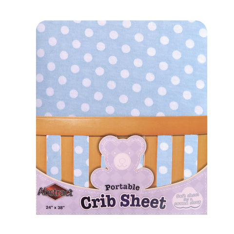 Fitted Crib Sheet For Boys and Girls