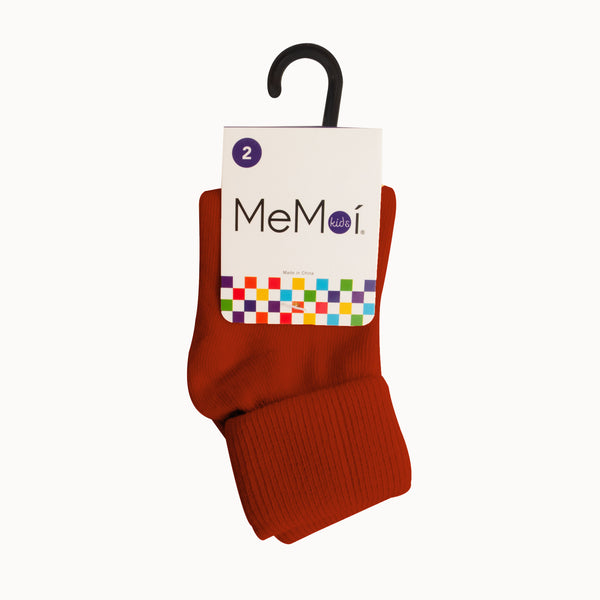 MEMOI Baby and toddler Triple Roll Socks  all colors available