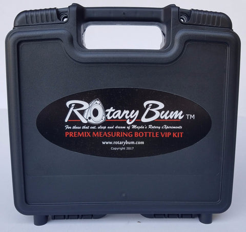 Rotary Bum VIP Premix Measuring Bottle Hard Case ONLY