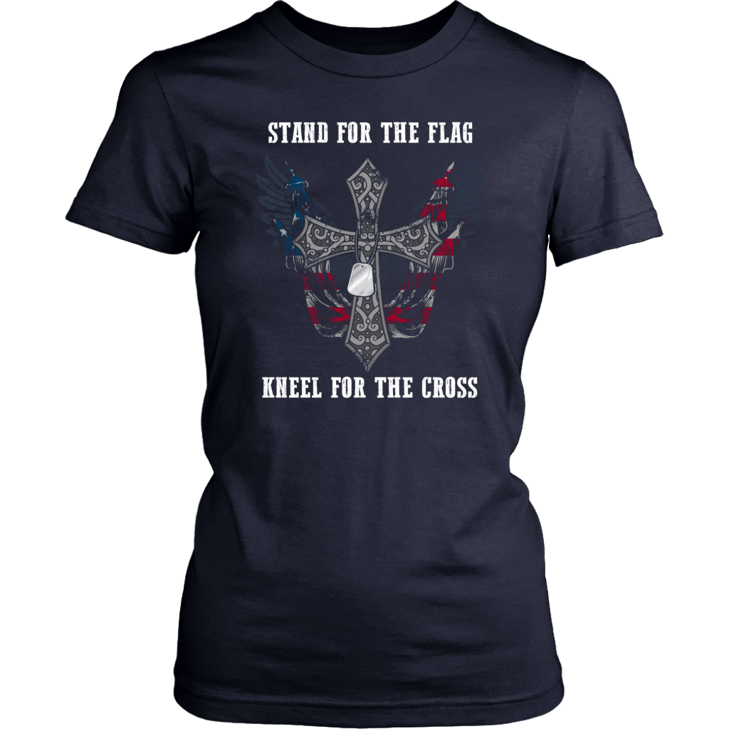 Stand For The Flag Kneel For The Cross (Version 28)