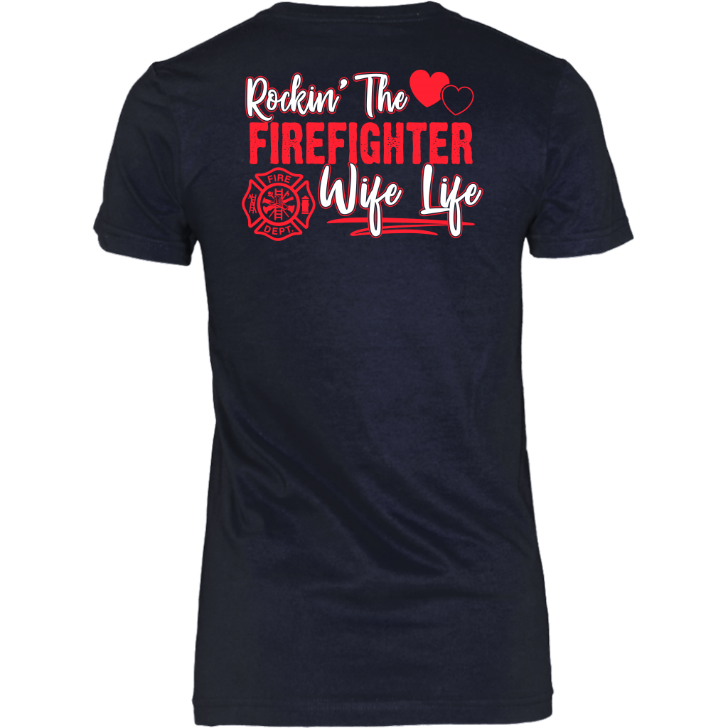 Rockin' The Firefighter Wife Life