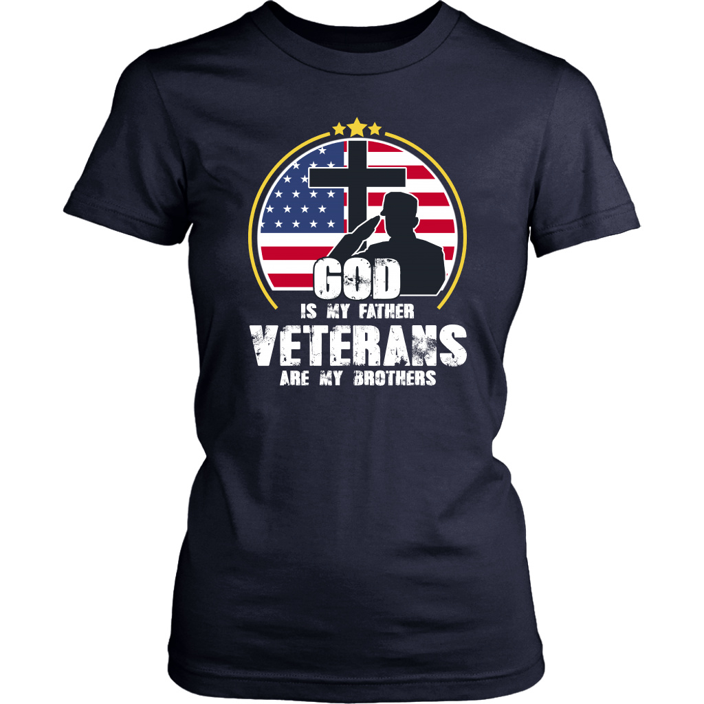 God Is My Father Veterans Are My Brothers