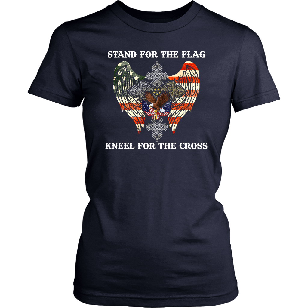 Stand For The Flag Kneel For The Cross VETERAN