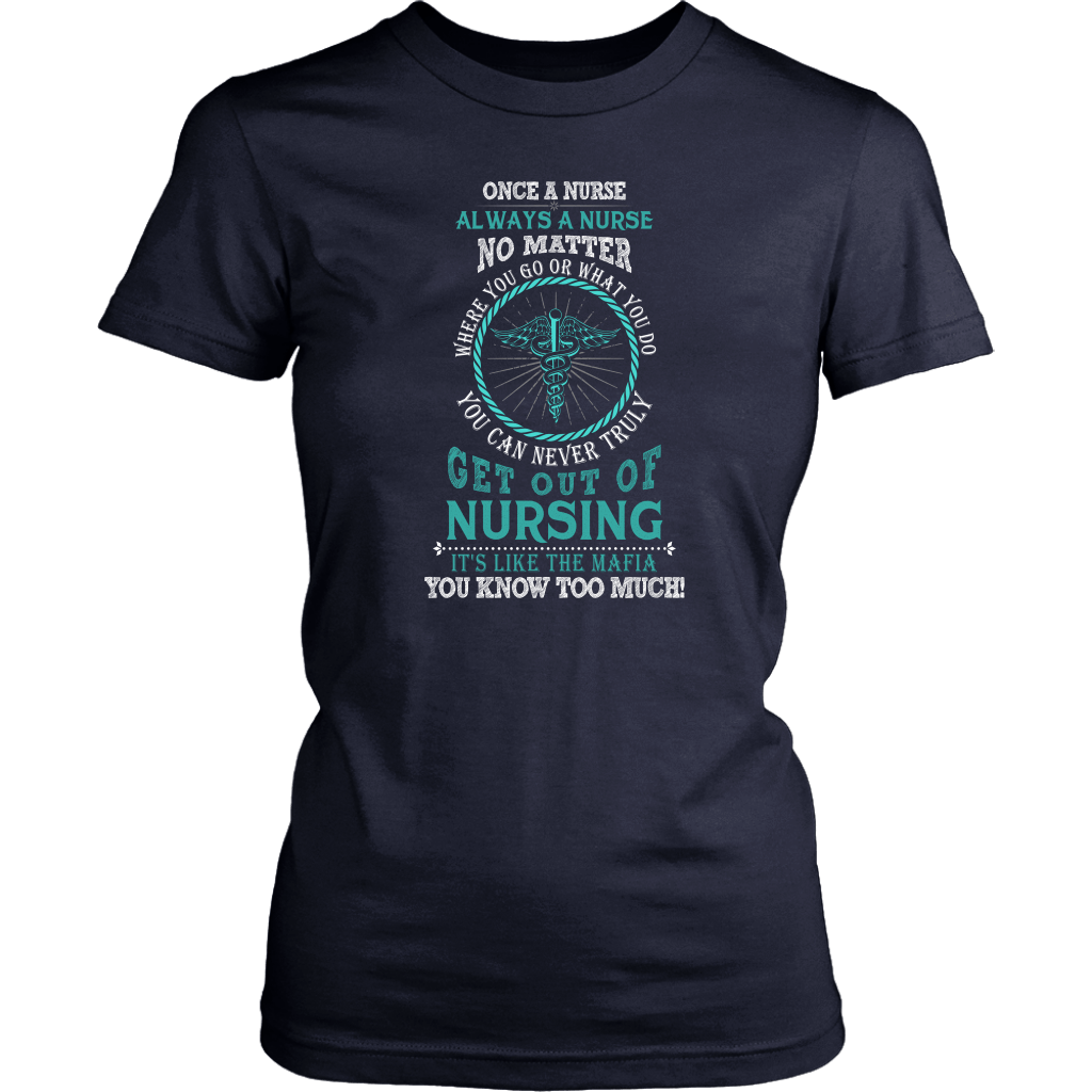 Once A Nurse Always A Nurse