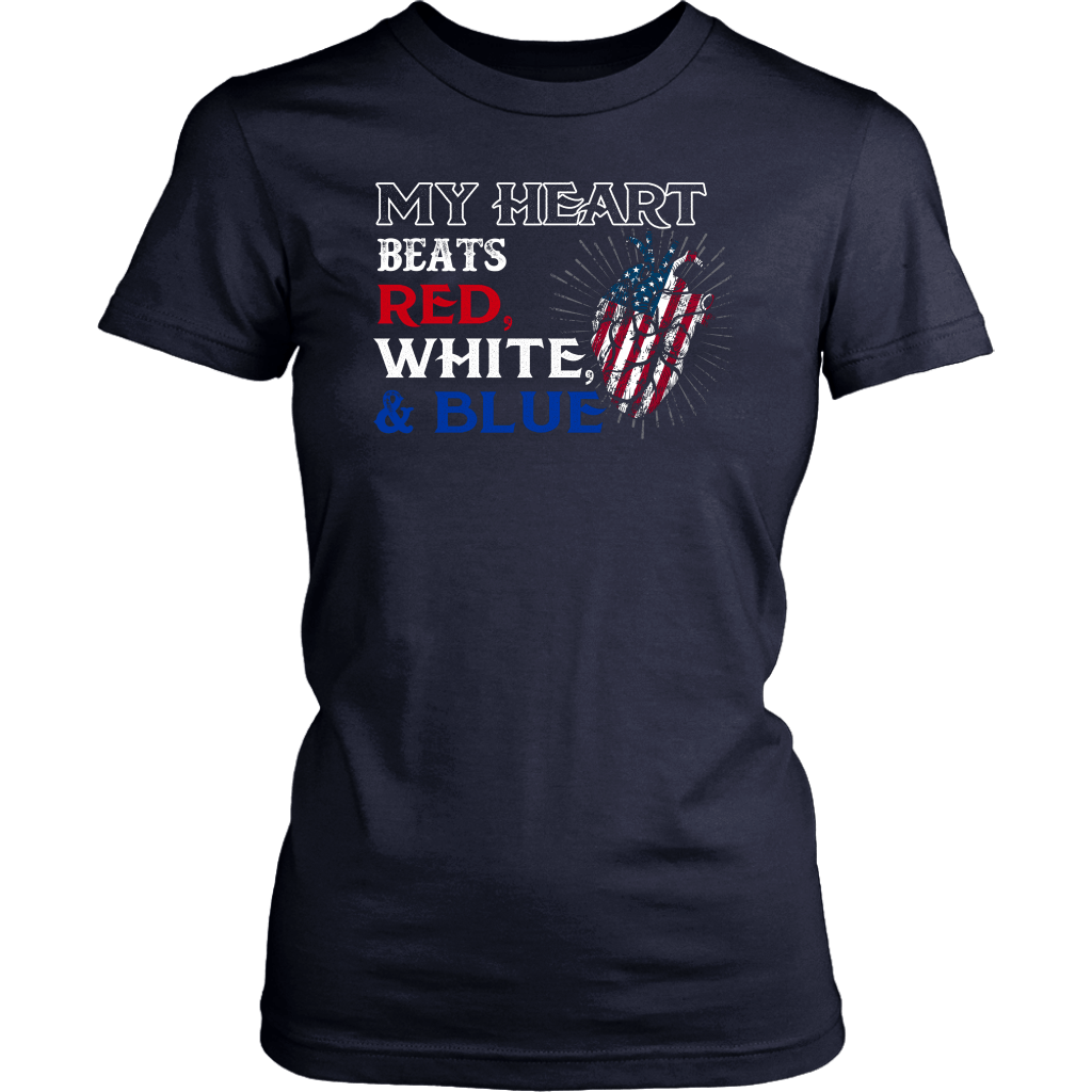 My Heart Beats Red,White & Blue ( Version 2 )