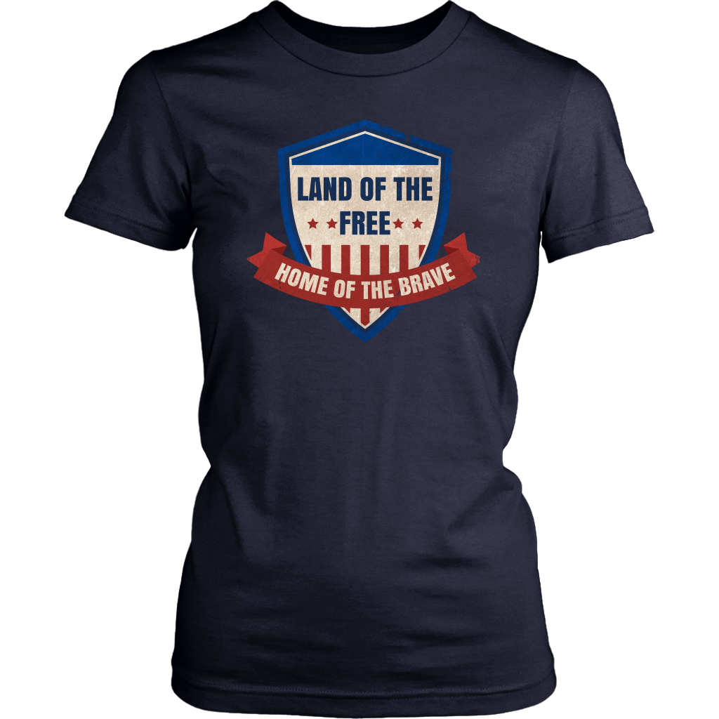 Land Of The Free Home Of The Brave (Version 7)