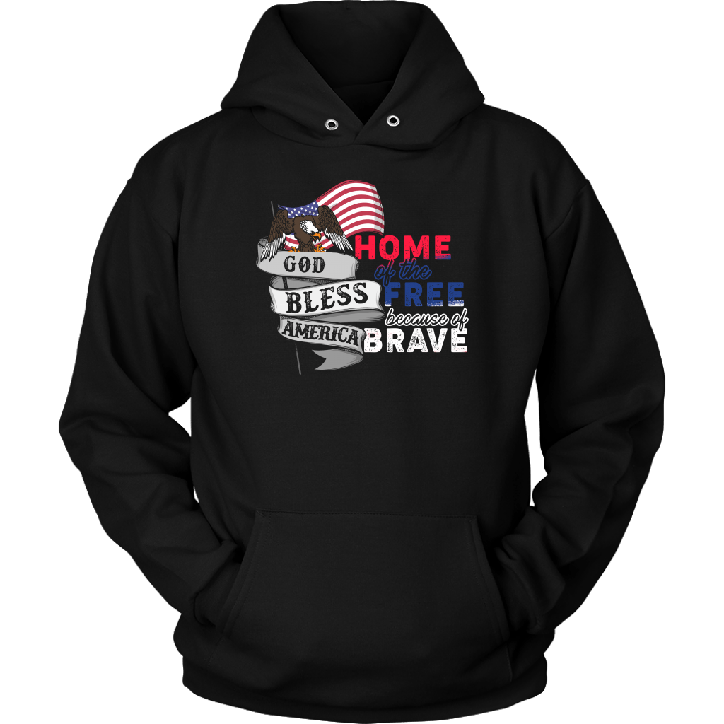 God Bless America Home Of The Free Because Of Brave